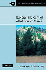 Ecology and Control of Introduced Plants (Ecology, Biodiversity and-ExLibrary