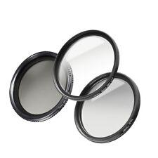 walimex pro Starter Komplett Set 77 mm UV-Filter/Polfilter/ND-Fader