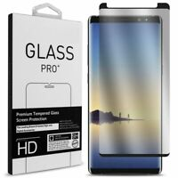 For Samsung galaxy Note 9  Tempered glass screen protector case friendly 9H case