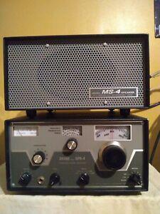 Drake SPR-4 receiver and Drake MS-4 Speaker
