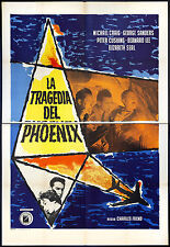 CINEMA-manifesto LA TRAGEDIA DEL PHOENIX m.craig, sanders, cushing, lee, FREND