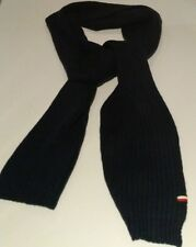 "tommy hilfiger chunky rib stitch scarf navy blue 50$  - 74""long"