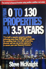 FROM 0 TO 130 PROPERTIES IN 3.5 YEARS Steve McKnight - Aust. Investment Book