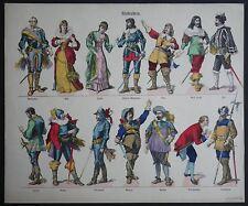 Juvenile Theatre Schreiber Kindertheater Characters Wallenstein A406