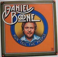 DANIEL BOONE ( LP 33T)  RUN TELL THE PEOPLE
