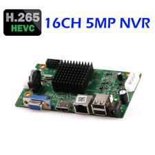 16CH 5MP H.265/H.264 NVR Network Video Recorder DVR Board For IP Camera XMEYE