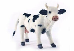 """NEW w/ Tag Cow Holstein Black White Plush Stuffed Animal 16"""" by Hansa Toys 4775"""