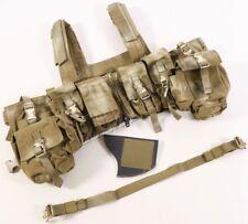 London Bridge LBT-1961G Zipper Front Chest Rig Vest Coyote Brown 1961G Navy SEAL