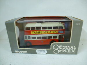 Corgi Diecast Model : BUT 961T Brighton Corporation Tamplin's Ales Tram - BOXED