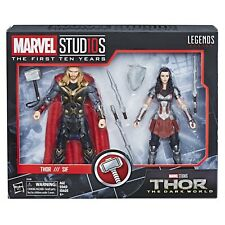 Marvel Legends Marvel Studios Thor & Sif Action Figure 2 Pack First Ten Years