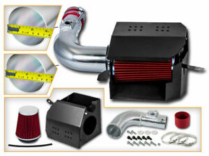 RED Heat Shield Air Intake Kit for 13-16 Scion FRS /13-20 BRZ /17-20 86 2.0