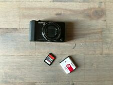 Sony Cyber-shot DSC-HX9V 16.2MP Digital Camera - Black