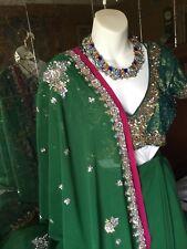 Wedding wear Lehenga Designer Indian Latest saree Bollywood lengha choli set .