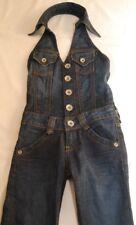 Zuckersüß! Vingino Jeans Overall Jumpsuit Neckholder Jeans  Gr 4 / 104