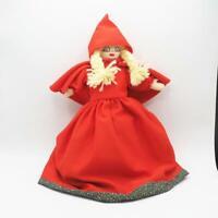 Vintage Interchangeable Hand Puppet Little Red Riding Hood Big Bad Wolf Grandma