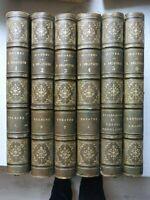oeuvres de Casimir Delavigne complet 6 tomes relié