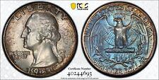 1958 Washington Quarter PCGS MS67 Original DMS Toned Silver Registry Coin TV