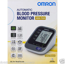 Omron Ultra Premium Upper Arm Blood Pressure Monitor HEM 7320 --- DRP