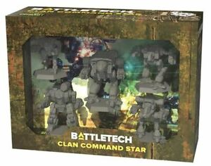 BATTLETECH CLAN COMMAND STAR New