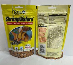 Tetra ShrimpWafers Daily Diet Fish Food 1ea/3 oz