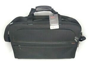 New Tumi Alpha Large Expandable Carry-On FXT Ballistic Nylon Shoulder Bag 22122