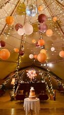 wedding or party Marquee decorations 115 paper Lanterns / Job Lot Halloween?!