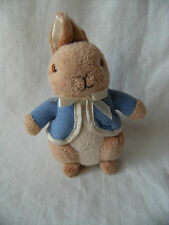 Peter Rabbit Soft Toy Comforter with Rattle 6""