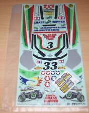 Tamiya 58662 Comical Grasshopper/WR-02CB, 9495949/19495949 Decals/Stickers, NIP