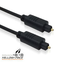 Digital OD2.2mm Fibre Optical Audio Toslink SPDIF Cable Lead For Surround Sound