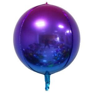 12'' 22''Metallic Shiny Gradient Latex Balloon Wedding Birthday Party Decoration