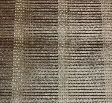 MICHAEL S SMITH JAPANESE ARMOUR SILVER BROWN VELVET FURNITURE FABRIC BY THE YARD