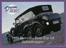 1938 Mercedes Benz Typ G4, Imperial Palace Co. LV, Car Trading Card Not Postcard