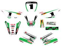 Kawasaki KDX 50 Full Custom Sticker kit Storm style / decals / graphics