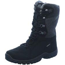 Lico Damen Winter STIEFEL Comfortex schwarz Klettverschluss EUR 40
