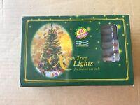 Vintage Christmas/Xmas Lights Coloured Non Flashing