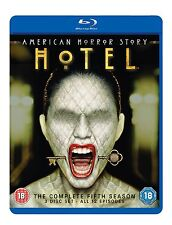 AMERICAN HORROR STORY HOTEL Complete Series 5 Blu Ray All Episodes Season UK R2