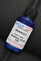 RENAULT MONDIAL BLUE D43 Renaultsport Clio PAINT TOUCH UP KIT 30ML 172 CUP