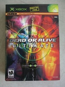 ORIGINAL XBOX DEAD OR ALIVE ULTIMATE COLLECTORS EDITION BOX AND CASES ONLY