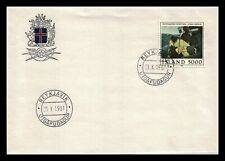 Iceland 1981 FDC, Painting. Hauling the Line. Lot # 1.