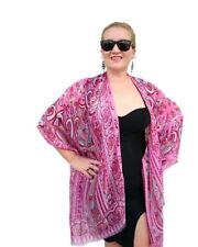 Silk Kimono Cover Up/ Pink Kimono Cardigan/ Plus Size Pink Kimono Jacket