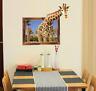 3D Giraffe Vinyl Home Room Decor Art Wall Decal Sticker Bedroom Removable Mural