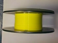 30 AWG  Mil-Spec Wire, Type E Yellow (PTFE) Stranded Silver Plated 25ft