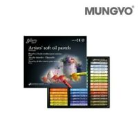 Mungyo MOPV-48 Gallery Artist' Soft Oil Pastel 48 Color Premium Art Tools_ig