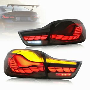 OLED Tail Lights For 14-20 4-series BMW GTS F32 F33 F36 F82 F83 With Sequential