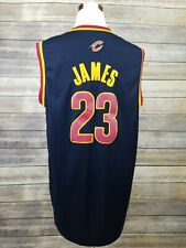 Authentic Adidas Lebron James Stitched Cleveland Cavaliers NBA Jersey Sz XXL +2