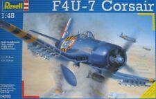 CORSAIR F4U-7 REVELL MODEL 1/48 SCALE-12^ flott; Pilot:SM Dolley-OP.Mousquetaire