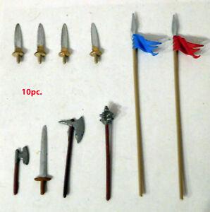 Original Elastolin weapons for 70mm figures #8