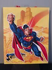 Lot of 2 Superman 3D Gift Bag