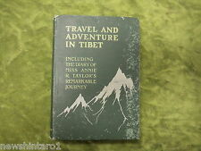 #ZZ. RARE 1902 TRAVEL BOOK - TRAVEL AND ADVENTURE IN TIBET