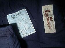 LONOBRIOS Mens Fashion sz 32 Dark Blue Stretch Jeans thick heavy duty 30-32x30